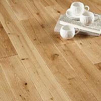 Colours Rondo Natural Oak Solid wood flooring, 1.3m²