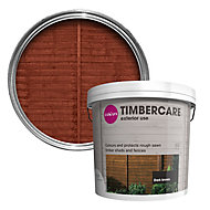 Colours Timbercare Dark brown Fence & shed Wood stain, 5L