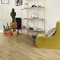 Colours Vinyl rolls Honey Wood effect Sheet vinyl, 6m²