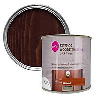 Colours Walnut Satin Doors & windows Wood stain, 2.5L