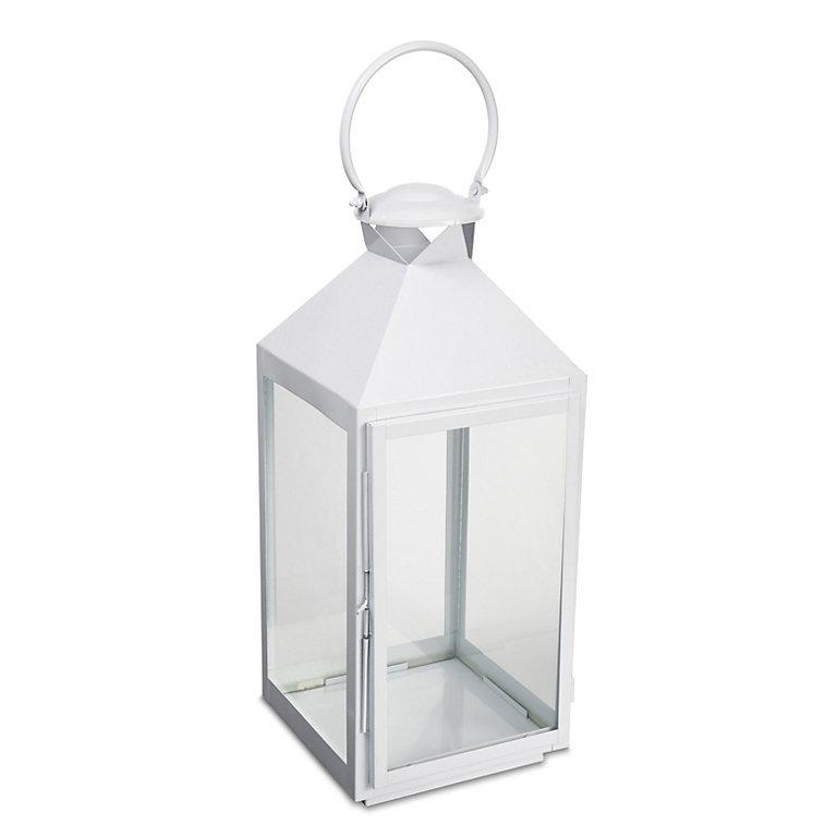 Glass Hurricane Lantern Large Diy At B Q, Large Decorative Hurricane Lamps