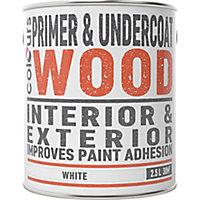 Colours Wood White Wood Primer & undercoat, 2.5
