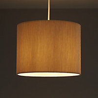 Colours Zadeh Cream Micropleat Light shade (D)260mm