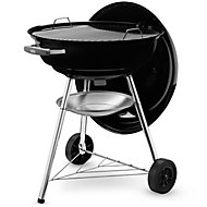 Compact kettle Black Charcoal Barbecue