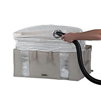 Compactor home Beige 210L Laundry bag