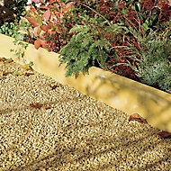 Contemporary Double sided Buff Paving edging (H)150mm (W)600mm (T)50mm