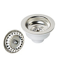 Cooke & Lewis 1 bowl Pack A waste, overflow & plumbing kit, (Dia)36mm