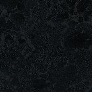 Cooke & Lewis 28mm Gloss Granite effect Laminate Round edge Bathroom Worktop, (L)2000mm
