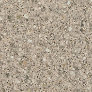 Cooke & Lewis 28mm Taurus Beige Laminate Bathroom Worktop, (L)2000mm