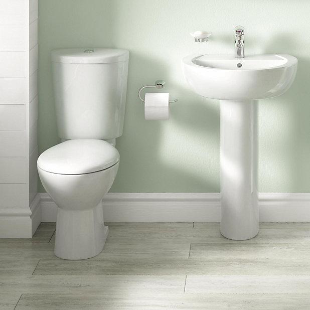 Cooke Lewis Alonso Toilet Basin Tap Pack Diy At B Q