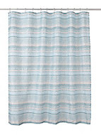 Cooke & Lewis Amaradia Multicolour Dots Shower curtain (L)1800mm