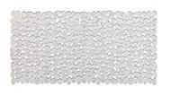 Cooke & Lewis Batumi Transparent PVC Slip resistant Bath mat (L)700mm (W)355mm