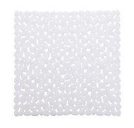 Cooke & Lewis Batumi White Polyvinyl chloride (PVC) Slip resistant Bath mat (L)520mm (W)520mm