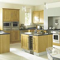 Cooke & Lewis Carisbrooke Cashmere Cabinet door (W)600mm
