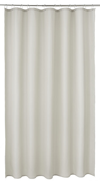 cooke lewis cecina mastic waffle shower curtain l 1800mm