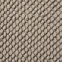 Cooke & Lewis Chanza Mastic Cotton Dot & Tufty Slip resistant Bath mat (L)800mm (W)500mm