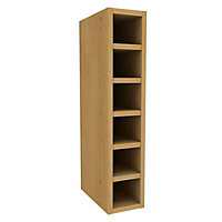 Cooke & Lewis Cherry effect Wine rack, (H)720mm (W)150mm