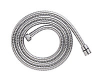 Cooke & Lewis Chrome effect Stainless steel Shower hose, (L)1.75m