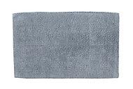 Cooke & Lewis Diani Celadon Cotton Tufty Slip resistant Bath mat (L)800mm (W)500mm