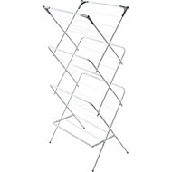 Cooke & Lewis Grey & white Laundry Airer, 15m