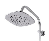 Cooke & Lewis Khabonina 5-spray pattern Chrome Chrome effect Shower kit