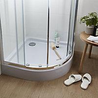Cooke & Lewis Lagan Quadrant Shower tray (L)900mm (W)900mm (H)900mm