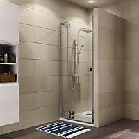 Cooke & Lewis Luxuriant Shower door with Hinged door (W)900mm