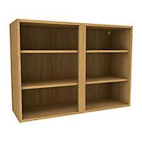 Cooke & Lewis Oak effect Deep Wall cabinet, (W)1000mm