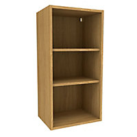 Cooke & Lewis Oak effect Tall Standard Wall cabinet, (W)450mm