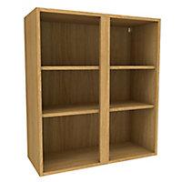 Cooke & Lewis Oak effect Tall Standard Wall cabinet, (W)800mm