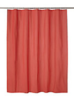 Cooke & Lewis Palmi Red Shower curtain (L)1800mm