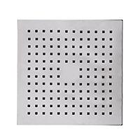 Cooke & Lewis Single-spray pattern Chrome Chrome effect Shower head