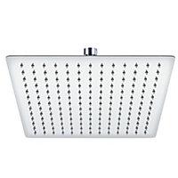 Cooke & Lewis Single-spray pattern Chrome effect Shower head