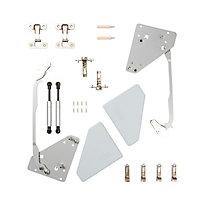 Cooke & Lewis Soft-close Frameless Bi-fold cabinet hinge, Pack of 2