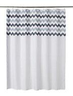 Cooke & Lewis Tigoda Multicolour Chevron Shower curtain (L)1800mm