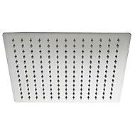 Cooke & Lewis Upana Single-spray pattern Chrome Chrome effect Shower head
