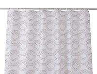 Cooke & Lewis Vedi Multicolour Rope knot Shower curtain (L)1800mm