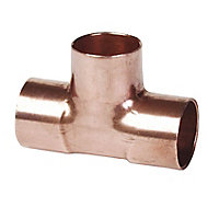 Copper End feed Equal Tee (Dia)15mm