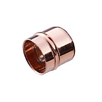 Copper Solder ring Stop end (Dia)15mm, Pack of 2