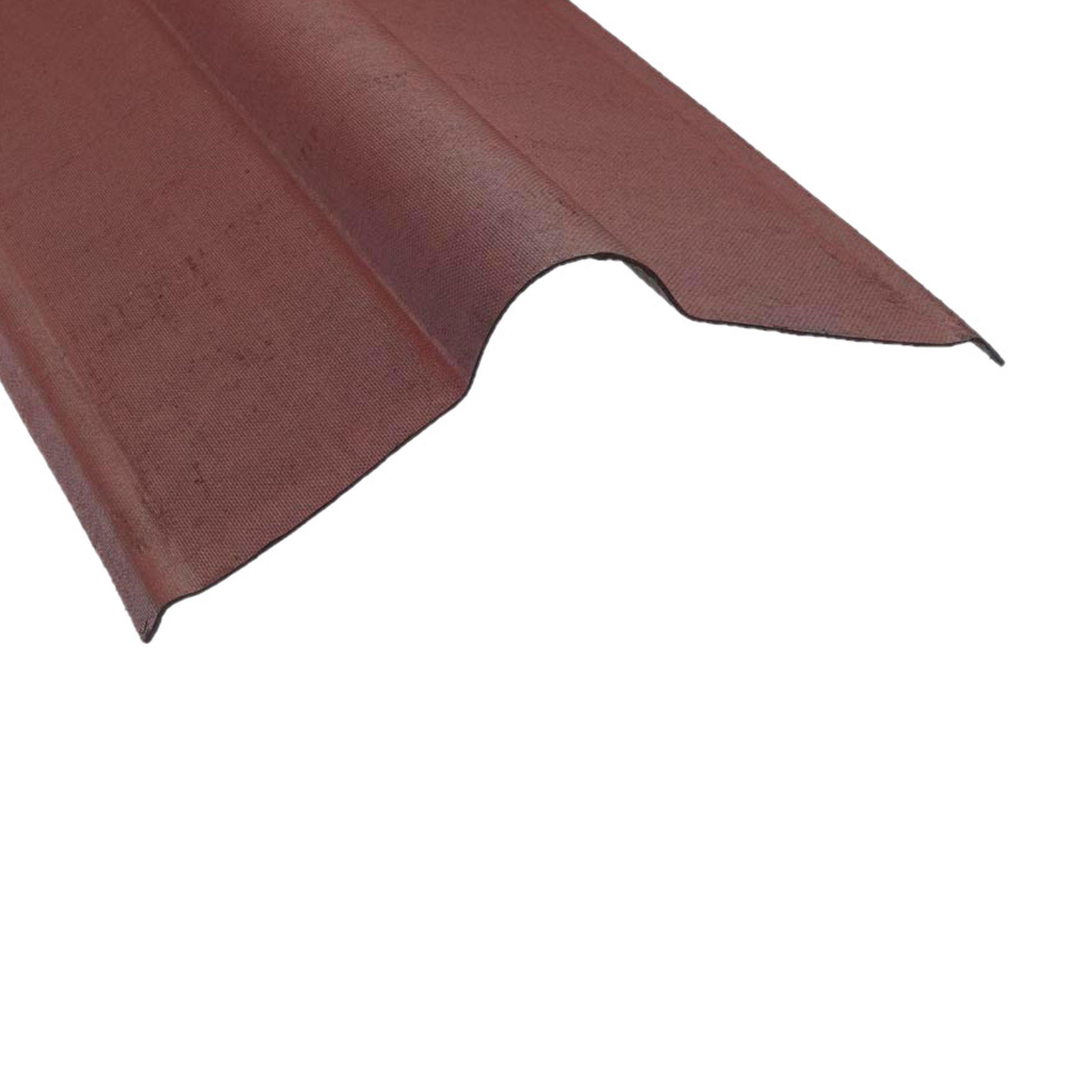 Coroline Corrugated Bituminous Roofing Sheet L 900mm 420mm Ridge Piece Diy At B Q