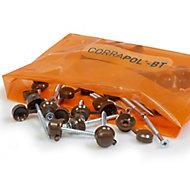 Corrapol Black Roofing screw (L)950mm