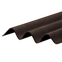 Corrapol-BT Brown Bitumen Corrugated Roofing sheet (L)2m (W)930mm (T)2mm