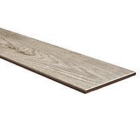 Cotage wood Beige Matt Wood effect Porcelain Outdoor Floor tile, Pack of 4, (L)1200mm (W)200mm