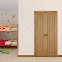 Cottage Oak veneer Internal Cupboard Door, (H)1981mm (W)457mm