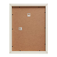 Cream Single Picture frame (H)44cm x (W)34cm