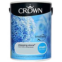 Crown Breatheasy Stepping stone Matt Emulsion paint 5L