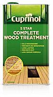Cuprinol 5 star complete Clear Wood treatment 1L