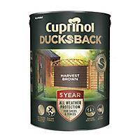 Cuprinol 5 year ducksback Harvest brown Fence & shed Treatment 5L