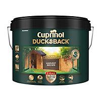 Cuprinol 5 year ducksback Harvest brown Fence & shed Treatment 9L