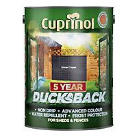 Cuprinol 5 year ducksback Silver copse Matt Fence & shed Wood treatment 5L